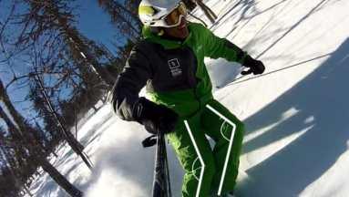 Technique de ski-indepandance des jambes-labo du skieur