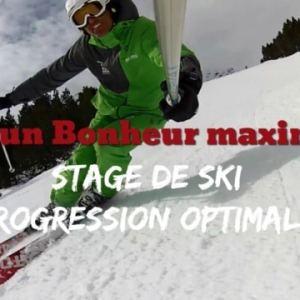 Stages de ski progression optimale