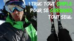 [Vidéo] Comment bien skier : 1 truc SIMPLE pour se CORRIGER tout SEUL