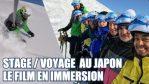 [Vidéo] SkiVlog – Stage de ski /voyage au Japon : le film en immersion de notre séjour