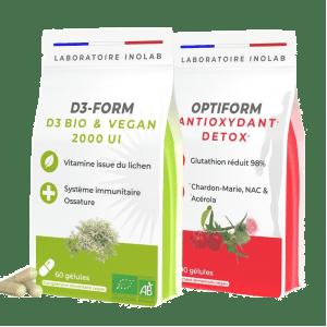 vitamine D3 + glutathion