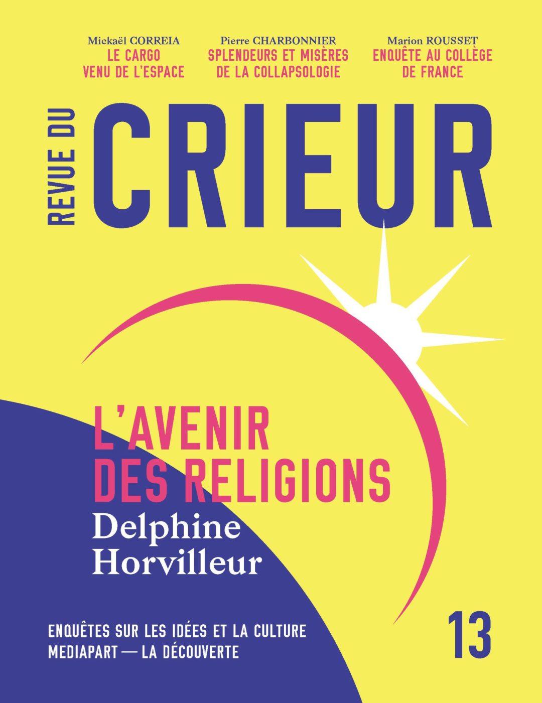 Revue du crieur Delphine Horvilleur