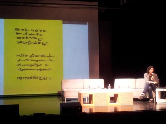 Verónica Gerber Bicecci, Poema invertido