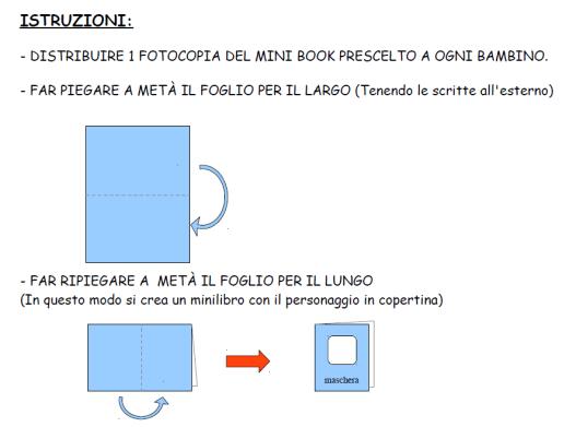 istruzioni mini book maschere italiane 2