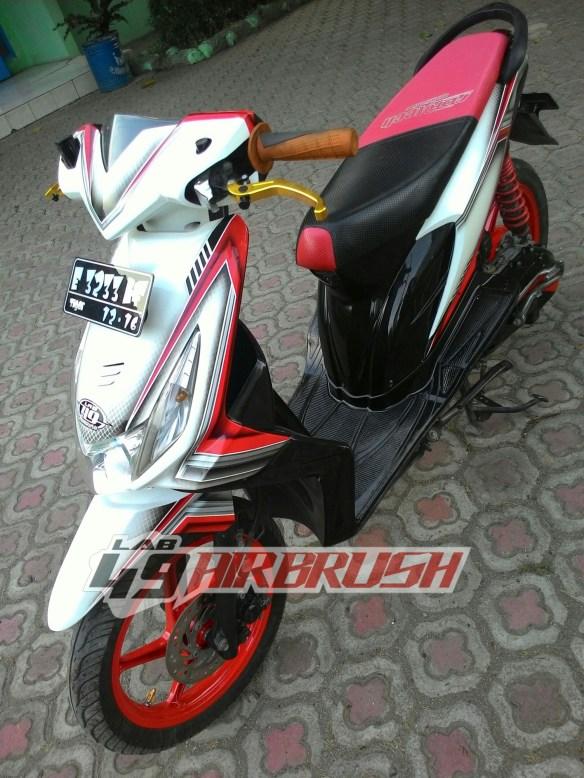 Modifikasi Motor Beat Fi : modifikasi, motor, Black, Honda, Customize