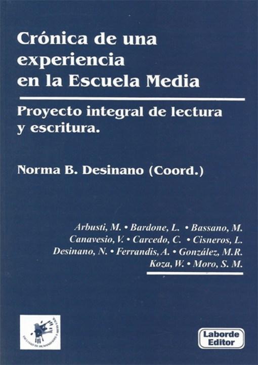 Crónica de una experiencia en la Escuela Media