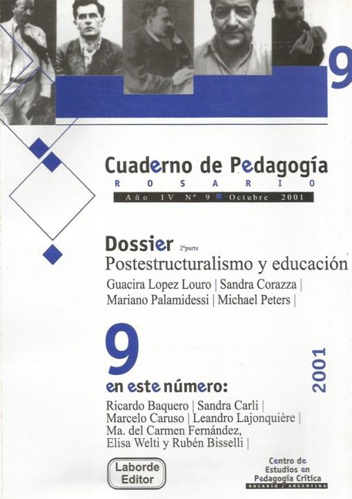 Cuaderno de Pedagogía Rosario nº9