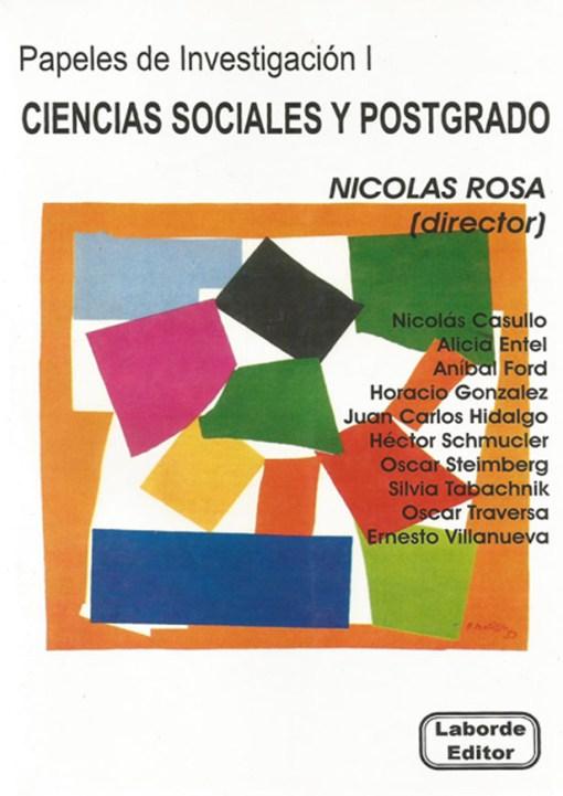 Papeles de Investigación 1 Ciencias Sociales y Postgrado
