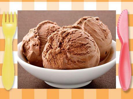 Helado de chocolate fácil