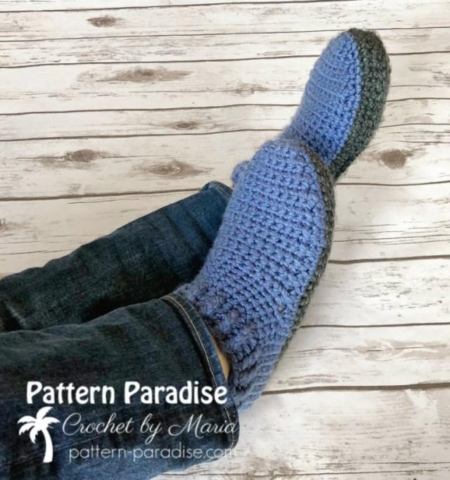 Zapatillas de crochet