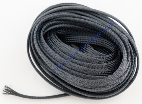 small resolution of 8mm wire protection nylon braided cable