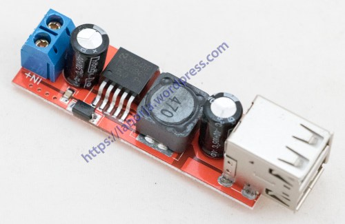 small resolution of dc dc step down charger module dual usb 5v 3a