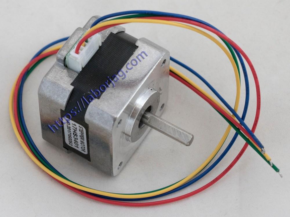 medium resolution of nema 17 stepper motor 17hs3401 borja home page nema motor specs nema 17 wiring diagram cnc