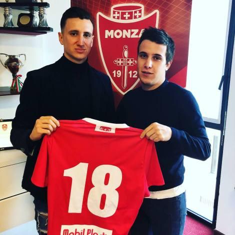 Andrea Padula con Tommaso Manicone - Monza