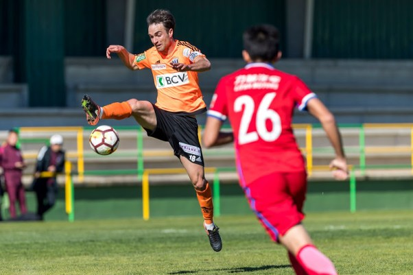 Andrea Maccoppi (FC Lausanne-Sport) en action.