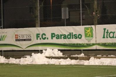 Scritta FC Paradiso