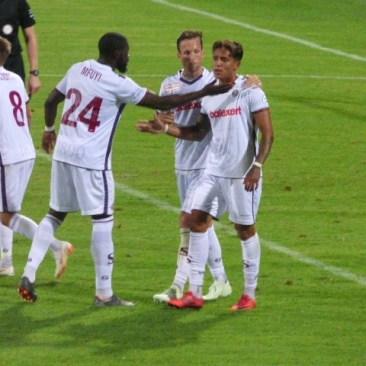 Chagas gol 0-2