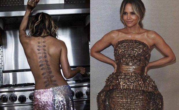 Halle Berry Muestra Su Nuevo Impresionante Tatuaje