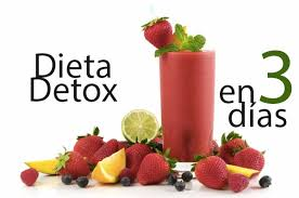 dieta detox en 3 dias