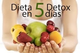 dieta detox en 5 dias