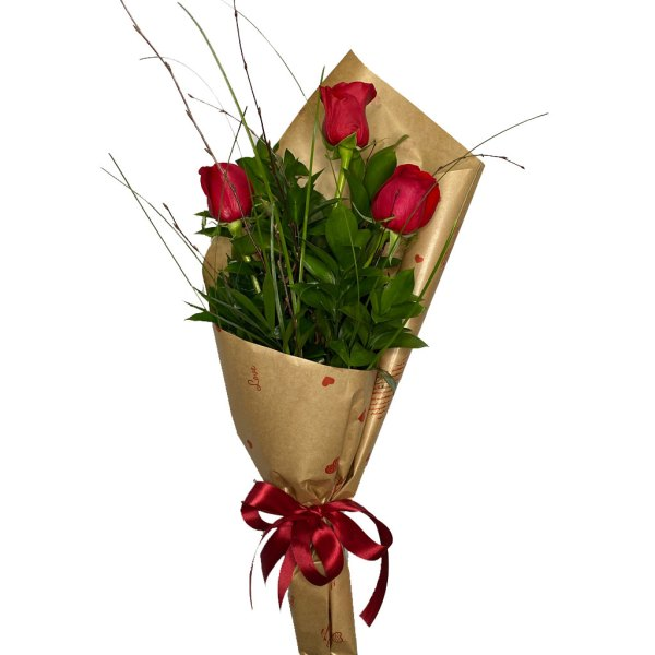 ramillete 3 rosas
