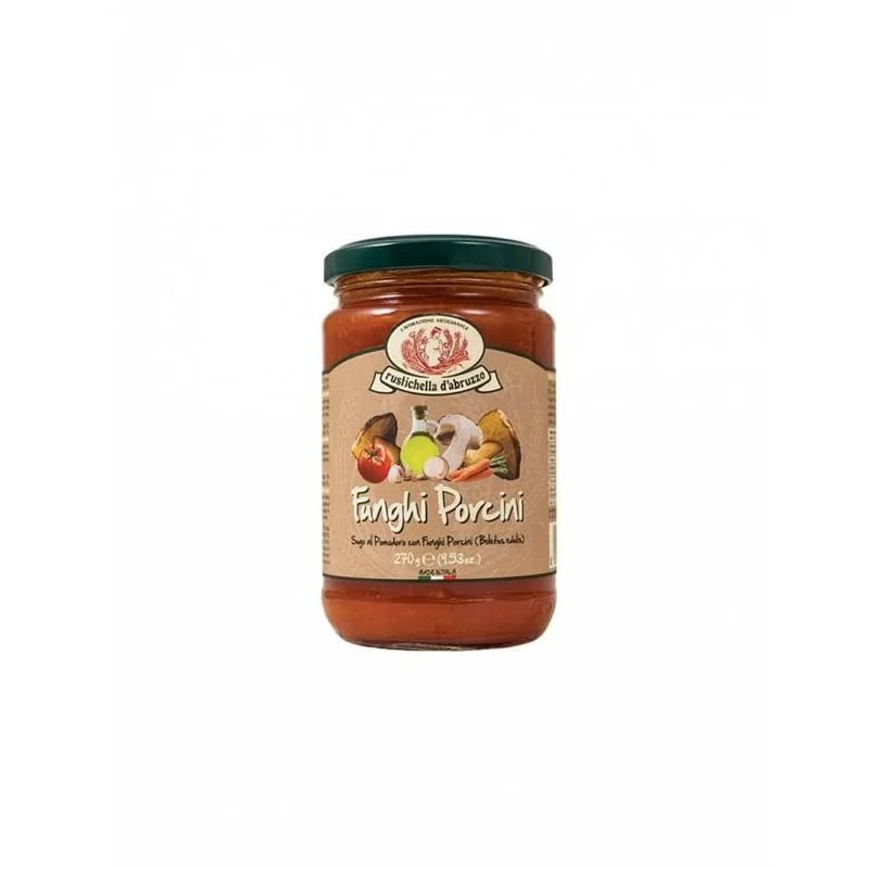 Sos Paste Funghi Porcini Rustichella D'Abruzzo