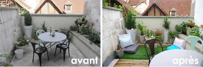 Envie d 39 am nager sa terrasse pour pater ses voisins - Difference balcon terrasse ...