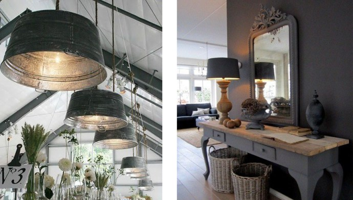 luminaires style campagne
