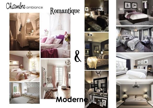 ambiance chambre romantique moderne