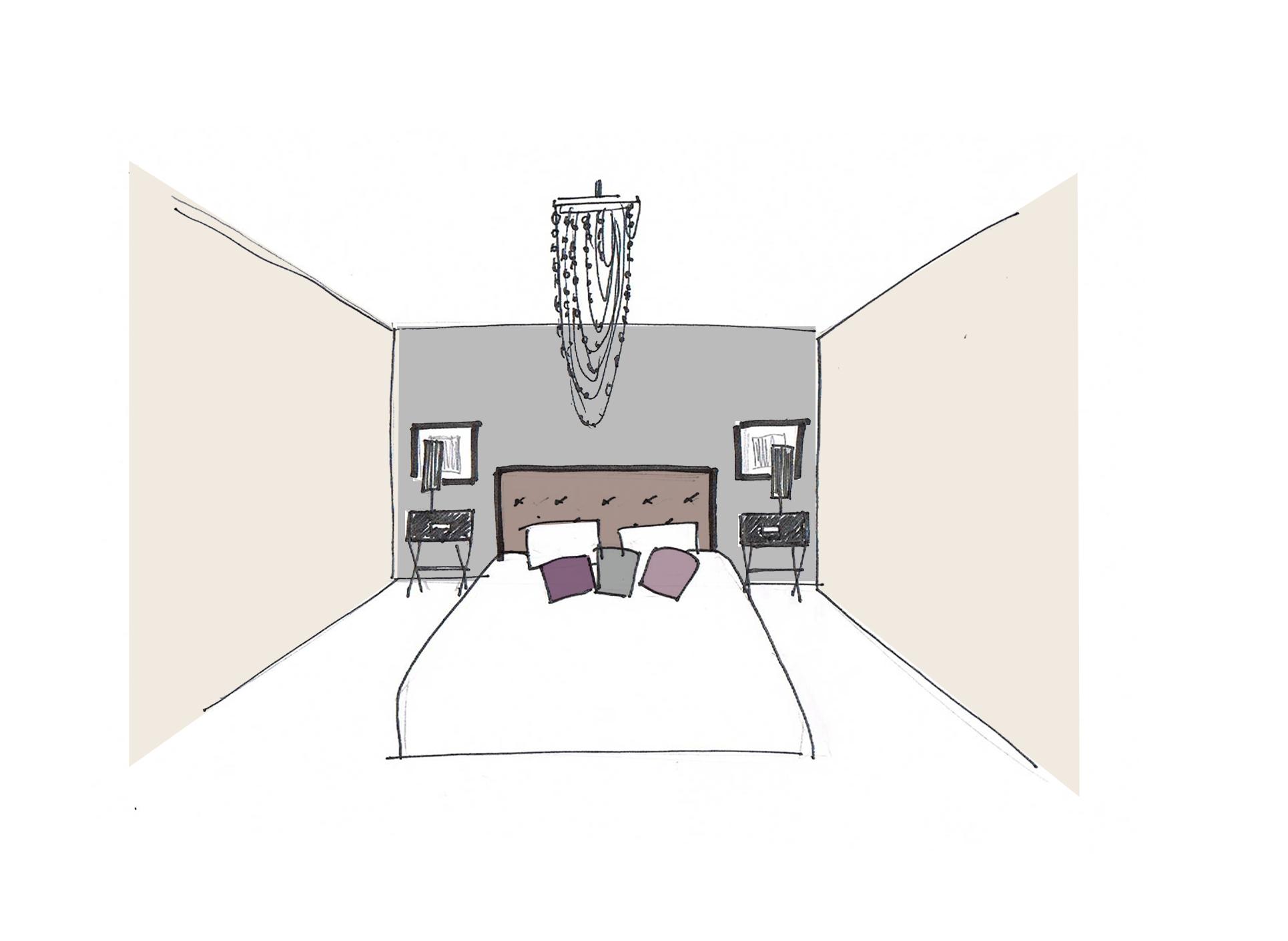 Croquis de chambre trendy duintrieur chambre conception for Conception de croquis de plan de maison
