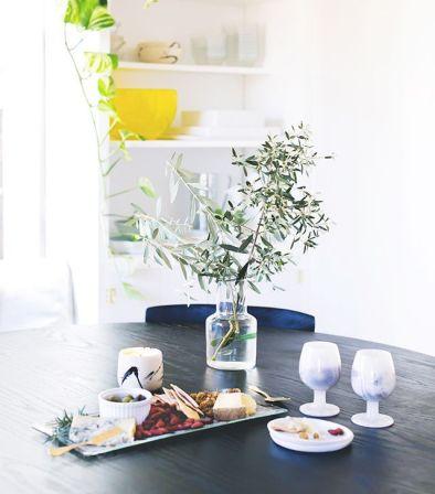 salle à manger vaisselle