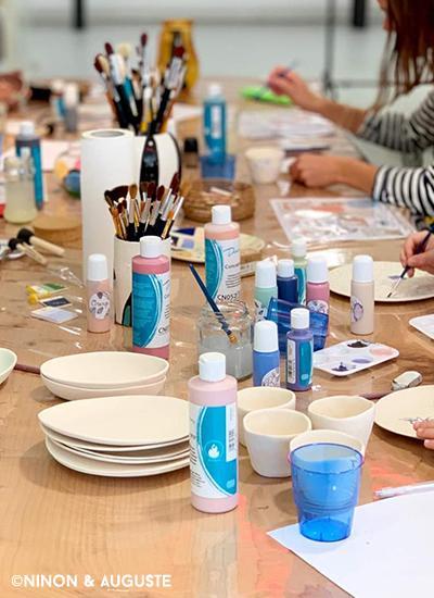 Atelier décor sur céramique2