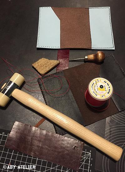 Atelier initiation maroquinerie2