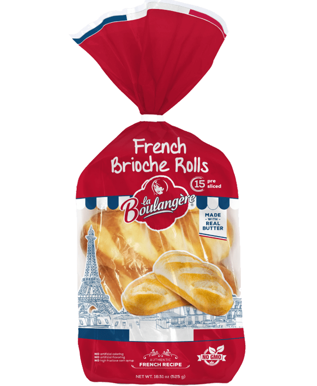 French brioche rolls