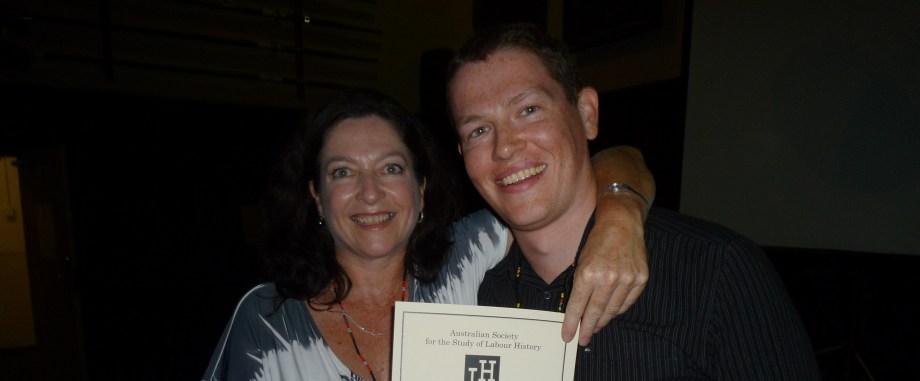 Nikki Balnave and Scott Stephenson