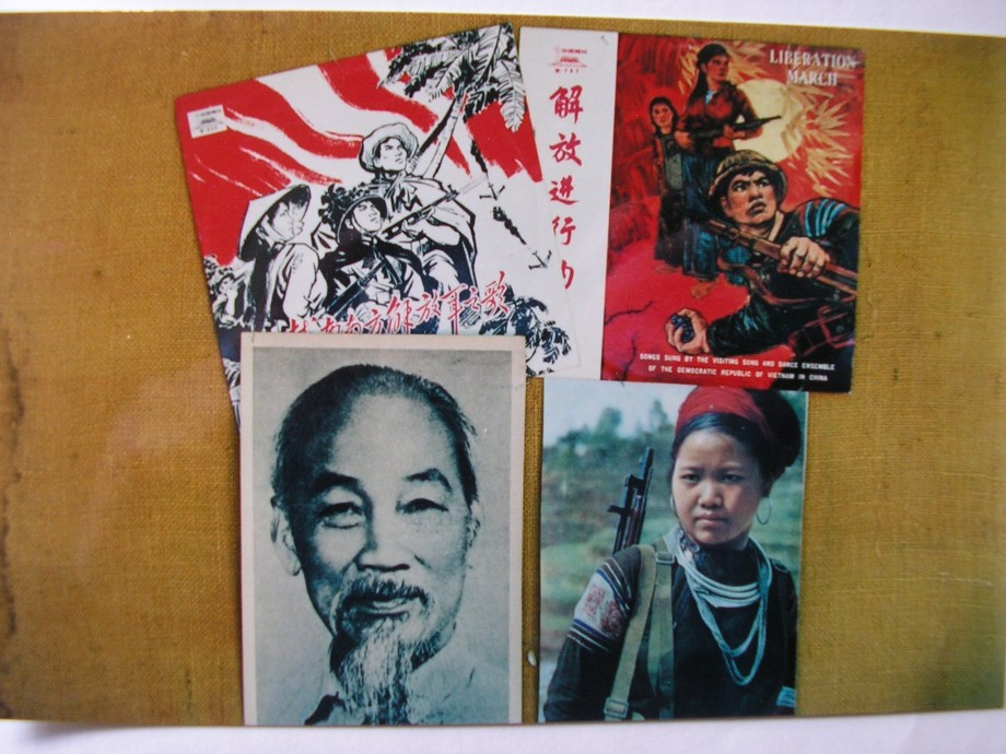 Marching songs and posters of the National Liberation Front of South Vietnam