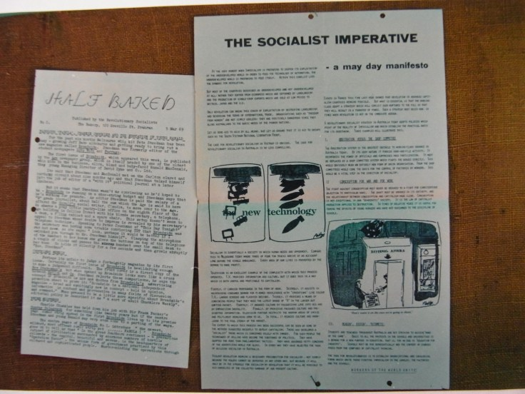Half-Baked, March 5, 1969 The Socialist Imperative - A May Day Manifesto, May Day 1969
