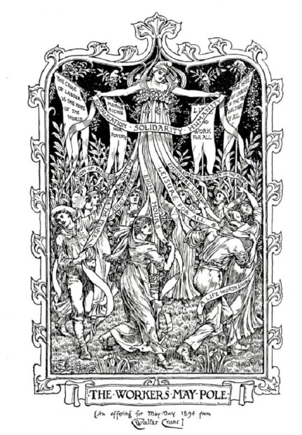 Walter Crane's The Workers' Maypole, 1894