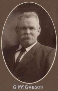 Portrait of Senator Gregor McGregor