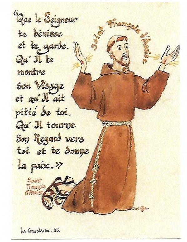 Prière De Saint François D'assise : prière, saint, françois, d'assise, Achetez, Saint, François, D'Assise, Image, Objets, Réligieux, Boutique, L'Espérance, Siège, Social