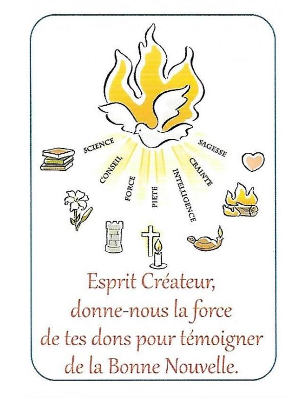 Les Sept Dons De L Esprit Saint : esprit, saint, Achetez, Saint, Esprit, Image, Objets, Réligieux, Boutique, L'Espérance, Siège, Social