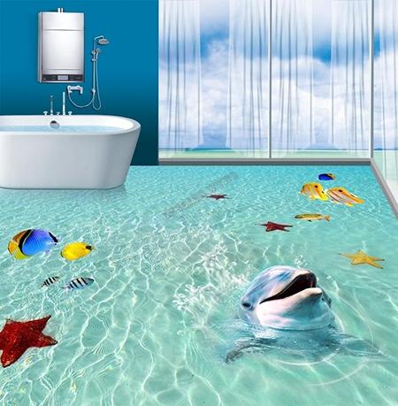 https laboutiquedemei fr revetement sol ocean 281 revetement sol trompe l oeil 3d le dauphin html