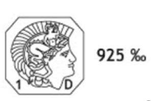 poinçon de garantie argent 925