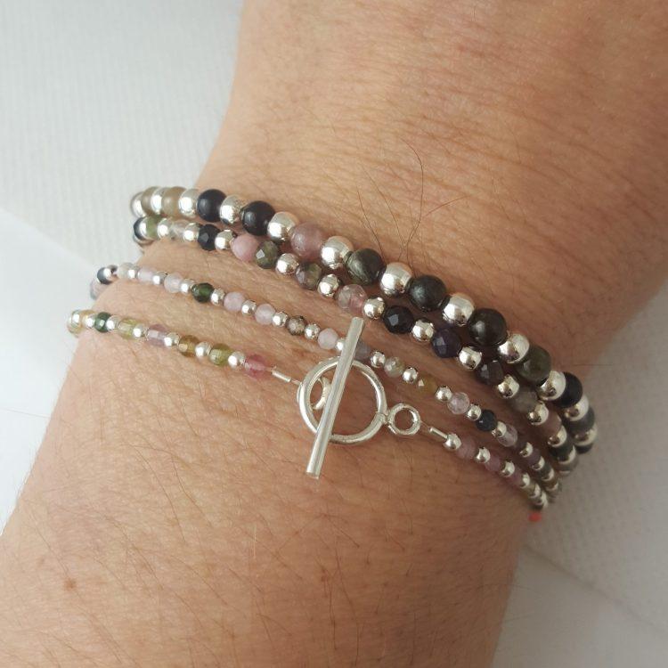 Bracelet pierre femme