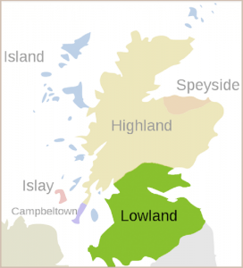 Lowlands-map