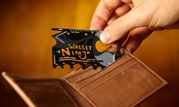 carte wallet Ninja
