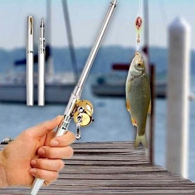 Mini canne à pêche