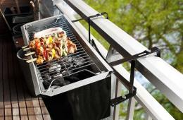 Barbecue balcon