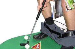 Golf toilette