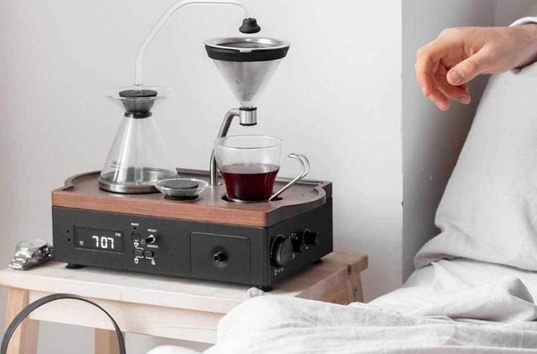 Réveil cafetière